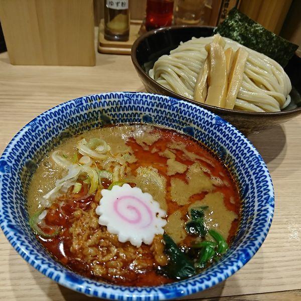 「担々つけ麺(並)」@舎鈴 JRさいたま新都心ビル店の写真