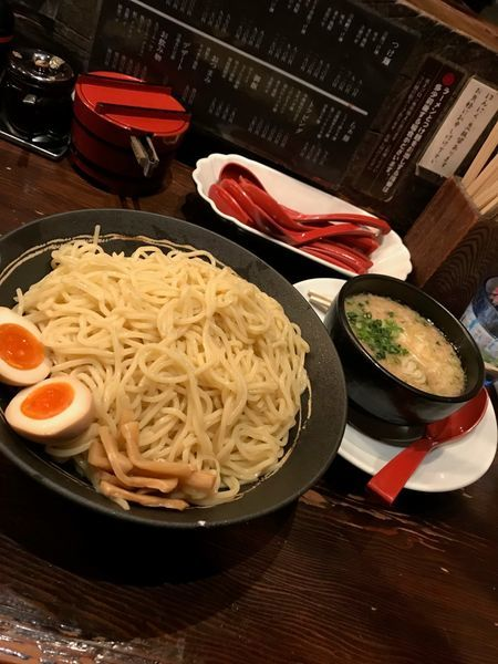 「背油つけ麺」@つけめん・らあめん 宗庵 北千住店の写真