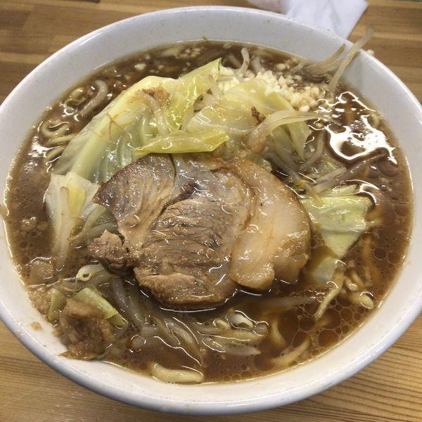 「ラーメン750円」@ラーメン荘 夢を語れ Yume Wo Katare Tokyoの写真