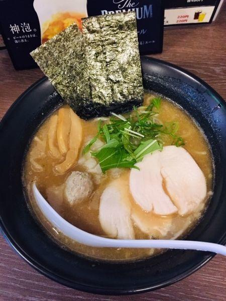 「濃厚鶏そば(黒)780円」@麺屋ばらいちの写真