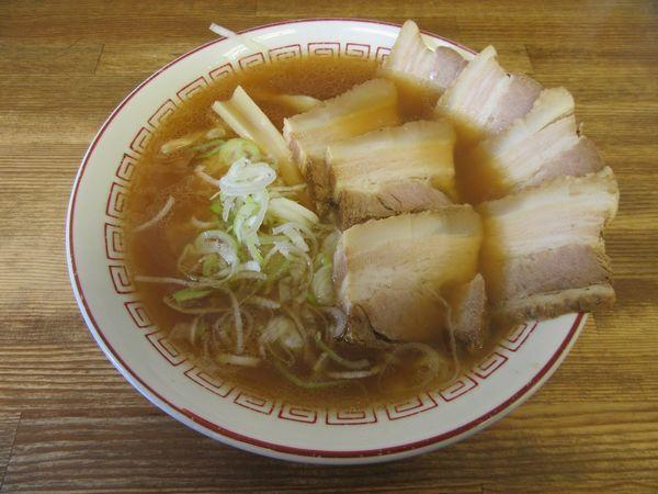 「しょうゆチャーシューメン(850円)」@喜多方食堂 麺や玄の写真