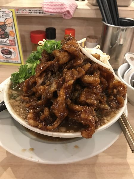 「肉汁麺レベルMAX」@肉汁麺ススム 秋葉原本店の写真