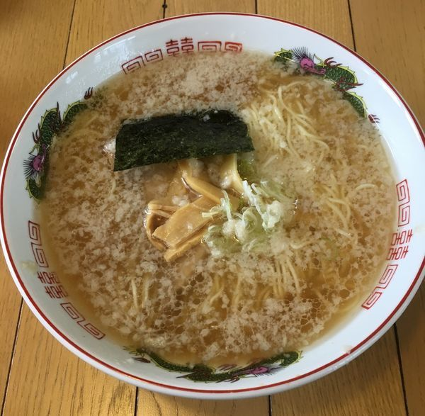 「醤油中華そば(580¥)大盛無料」@ラーメン食堂ホームランの写真