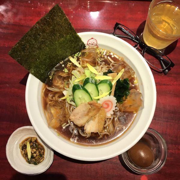 「つったい(冷たい)ラーメン」@麺ダイニング ととこの写真