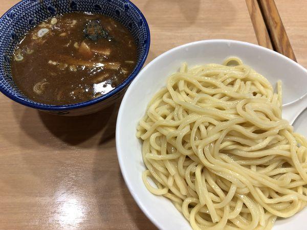「濃厚つけ麺(中)」@スミレ食堂の写真