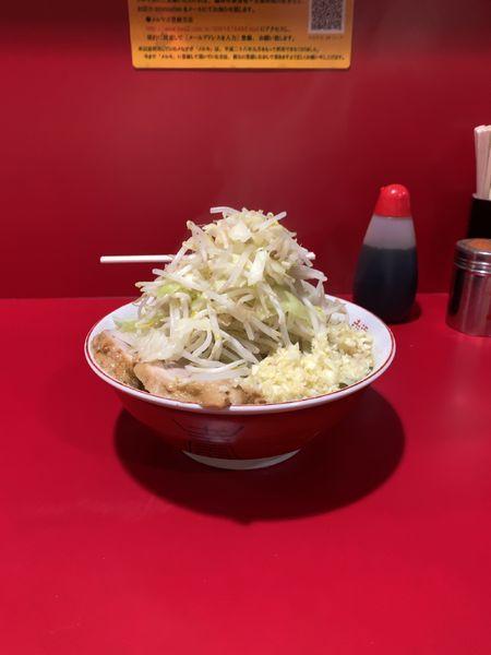 「小、野菜増し増し、ニンニク増し増し」@ラーメン二郎 札幌店の写真