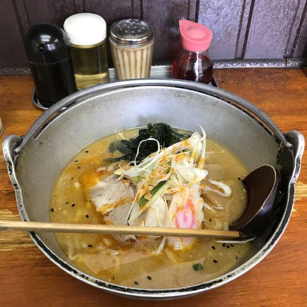 「味噌ラーメン(¥750)※」@ギョーザ・ラーメン 華の写真
