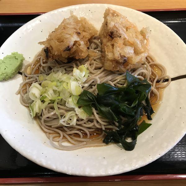 「いかげそのかき揚げ(¥420)」@しぶそば 長津田店の写真