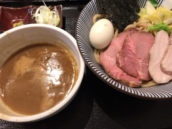 「特製つけ麺」@長男、もんたいちおの写真