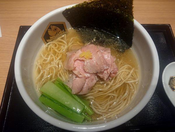「鰤らーめん」@真鯛らーめん 麺魚 錦糸町PARCO店の写真