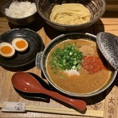 元祖めんたい煮こみつけ麺の写真