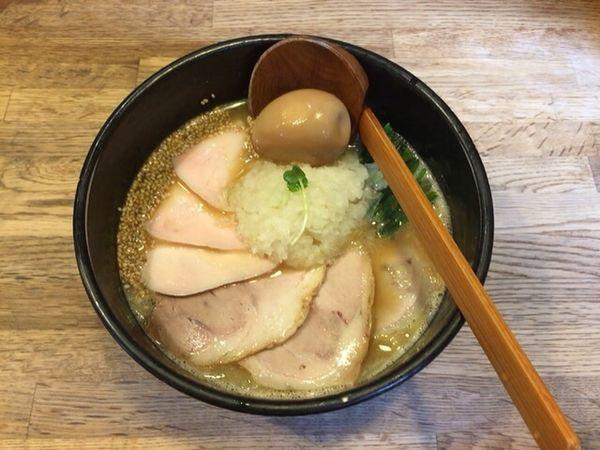 「鶏白湯らーめん」@麺屋時茂の写真