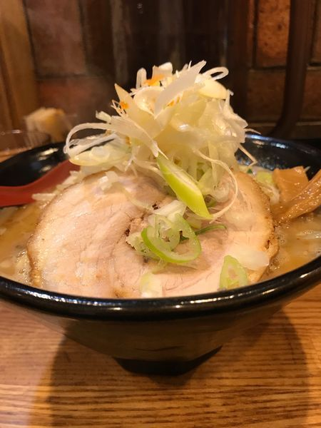 「辛味噌野菜マシニンニクマシ」@麺処 花田 上野店の写真