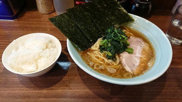 「ラーメン720円也」@横浜家系 せいせき家の写真
