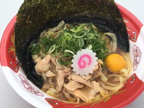 「金の鶏中華」@新旬屋 麺 新庄本店の写真