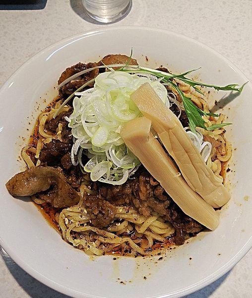 「汁なし坦々麺 830円」@麺屋 久兵衛の写真
