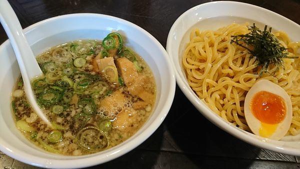 「甘露醤油つけ麺(830円)」@元家うめのや 坂戸店の写真