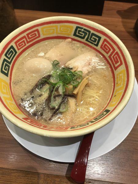 「じゃんがら+味玉」@東京じゃんがら 秋葉原店の写真