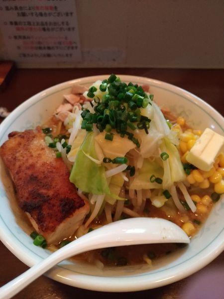 「みそそば(期間限定)」@自家製麺 鶏八朗の写真