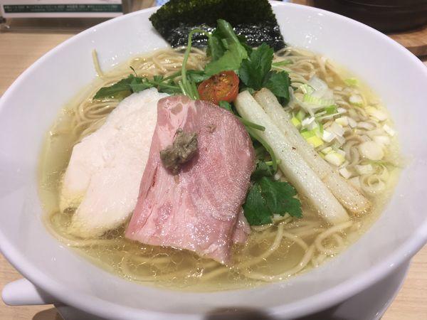 「鶏 soba 〜塩 ver〜」@むぎとオリーブ 日本橋店の写真