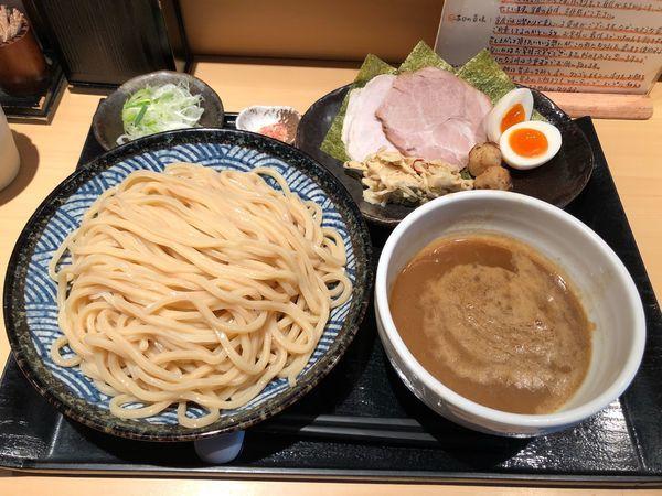 「特製つけ麺 中盛」@つけ麺 道の写真