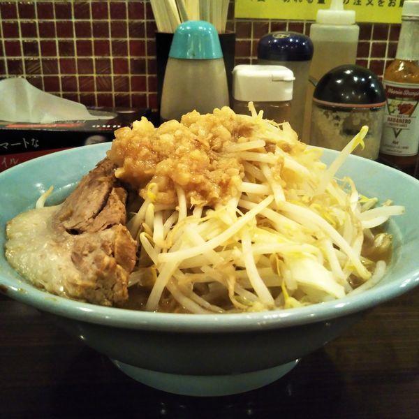 「ミニラーメン(150g)」@立川マシマシ 8号店の写真
