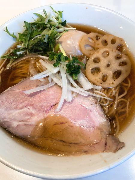 「醤油そば ¥850+味玉 ¥100」@麺や 彩~iro~の写真