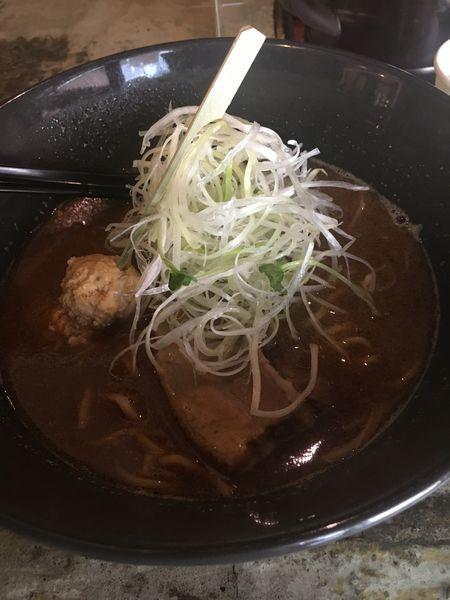 「赤味噌ラーメン¥880+一色米穀店さんの白ごはん¥180」@みつか坊主 本店の写真