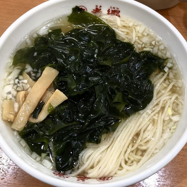 「タンメン」@老郷 本店の写真