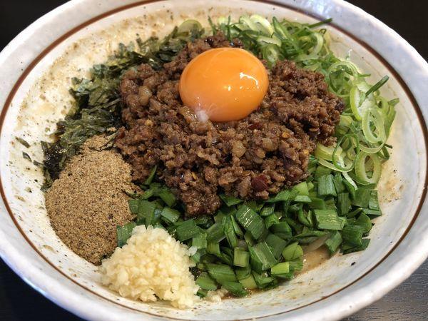 「元祖台湾まぜそば ¥810」@麺屋やまと 岐阜本店の写真