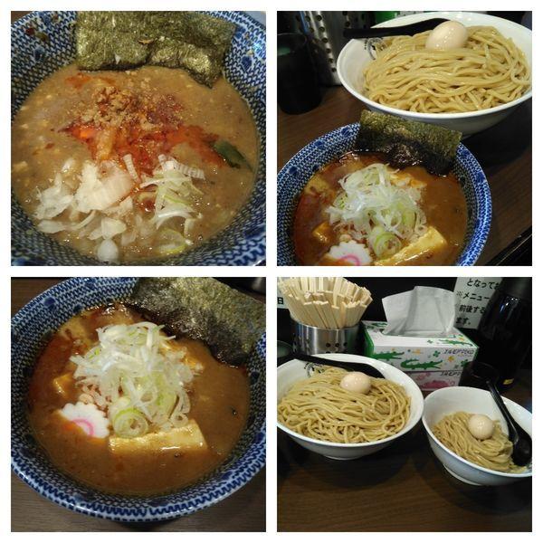 「【限定】麻婆豆腐つけ麺大盛り」@狼煙 東大宮店の写真