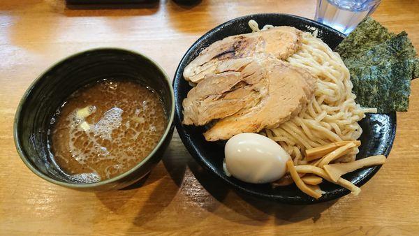 「特製つけ麺 980円 + 中盛 50円」@麺屋 土竜の写真
