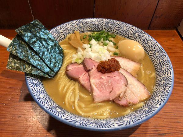 「特製豚骨魚介らーめん 中盛」@麺処 ほん田の写真
