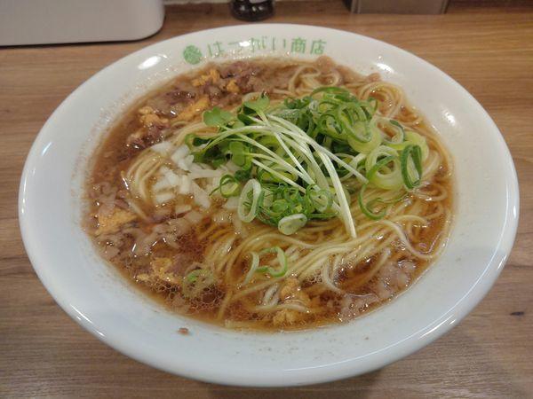 「【限定】牛テールスープの中華そば ¥850」@はつがい商店の写真