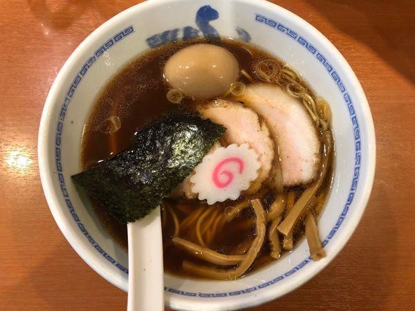 「スペシャルラーメン970円」@たけちゃんにぼしらーめん 調布店の写真