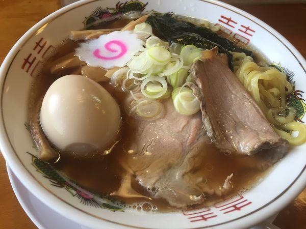 「味玉鶏節らーめん(880円)+チャーシュー1枚」@さんのじの写真