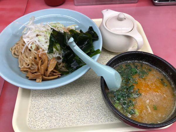 「絶品えび塩つけ麺(大盛り)」@ラーメン山岡家 高崎西店の写真