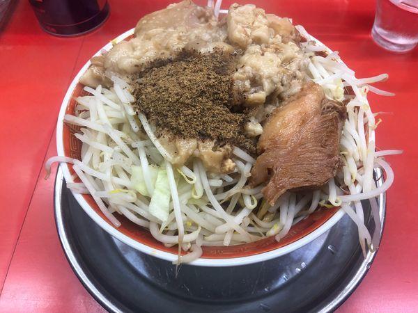 「油まぜ麺」@麺でる 戸越店の写真