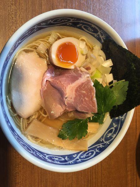 「煮干そば 白」@寿製麺よしかわ 川越店の写真