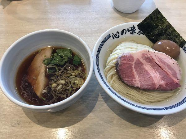 「匠美鶏の昆布水つけ麺」@心の味製麺の写真