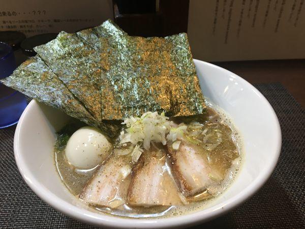 「塩煮干ラーメン2 特製」@ONLY ONE NOODLE 壱富士の写真