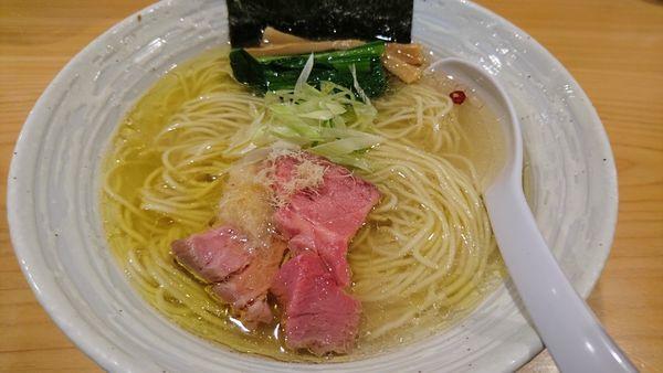 「らぁ麺塩」@麺屋 さくら井の写真