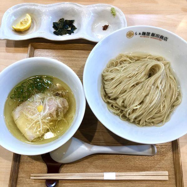 「塩つけ麺 ¥1200」@らぁ麺 飯田商店の写真