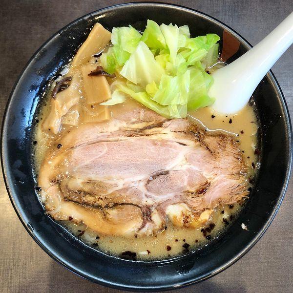 「鶏白湯 醤油らー麺 (650円)」@麺人佐藤の写真