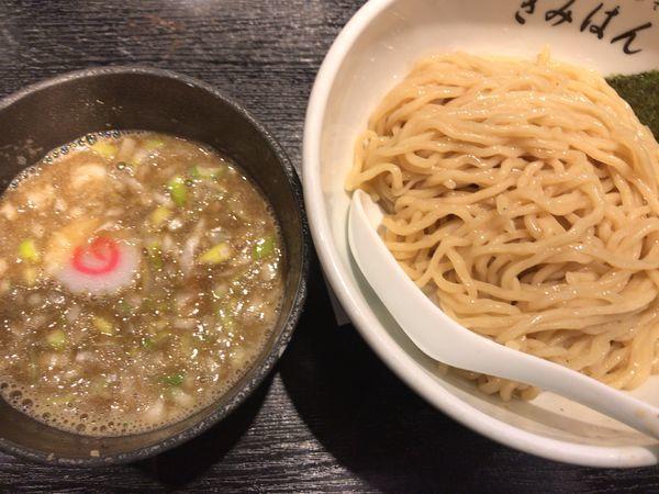 「つけめん840円」@江戸前煮干中華そば きみはん 五反田店の写真
