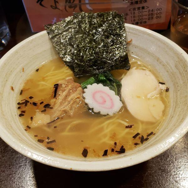 「特製塩ラーメン750円」@らーめん そよ風の写真