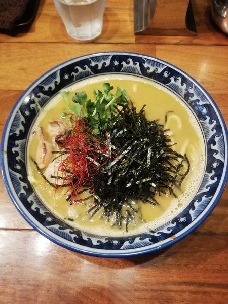 「牡蠣 ラーメン900円」@麺や佐市の写真