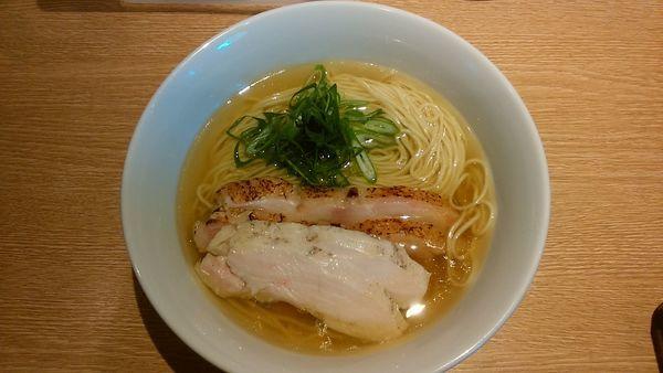 「地鶏そば(名古屋コーチンバージョン)」@麺屋 一燈の写真
