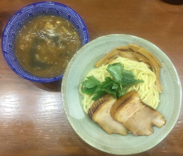 「特濃煮干しつけ麺850円」@麺や百日紅の写真