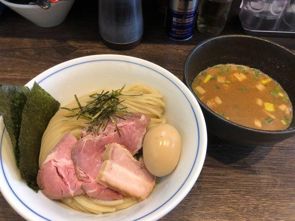 「特製つけ麺 魚介 中盛」@麺処 景虎 戸塚安行店の写真